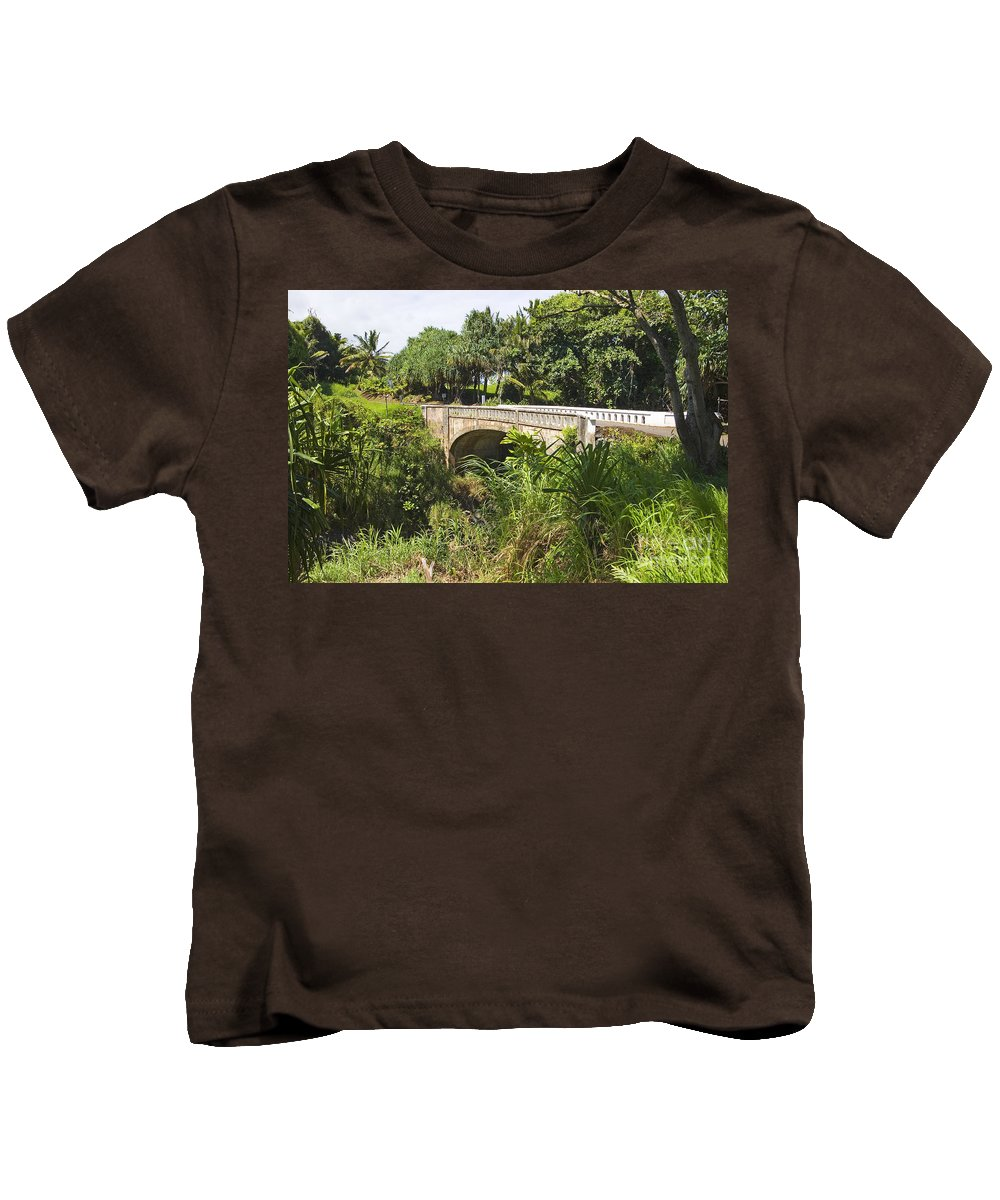 Afternoon Kids T-Shirt featuring the photograph Hana, Kipahulu by Ron Dahlquist - Printscapes