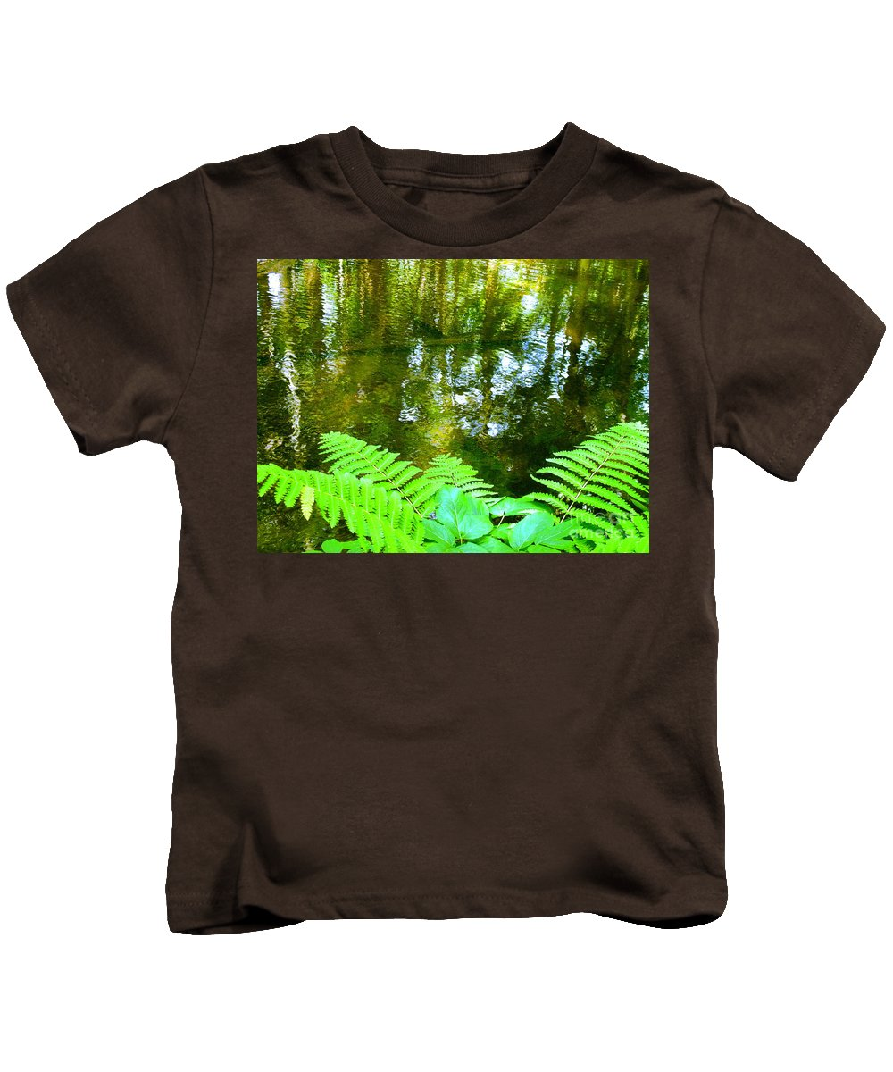 Water Kids T-Shirt featuring the photograph Holiest Of All The Spots On Earth by Sybil Staples