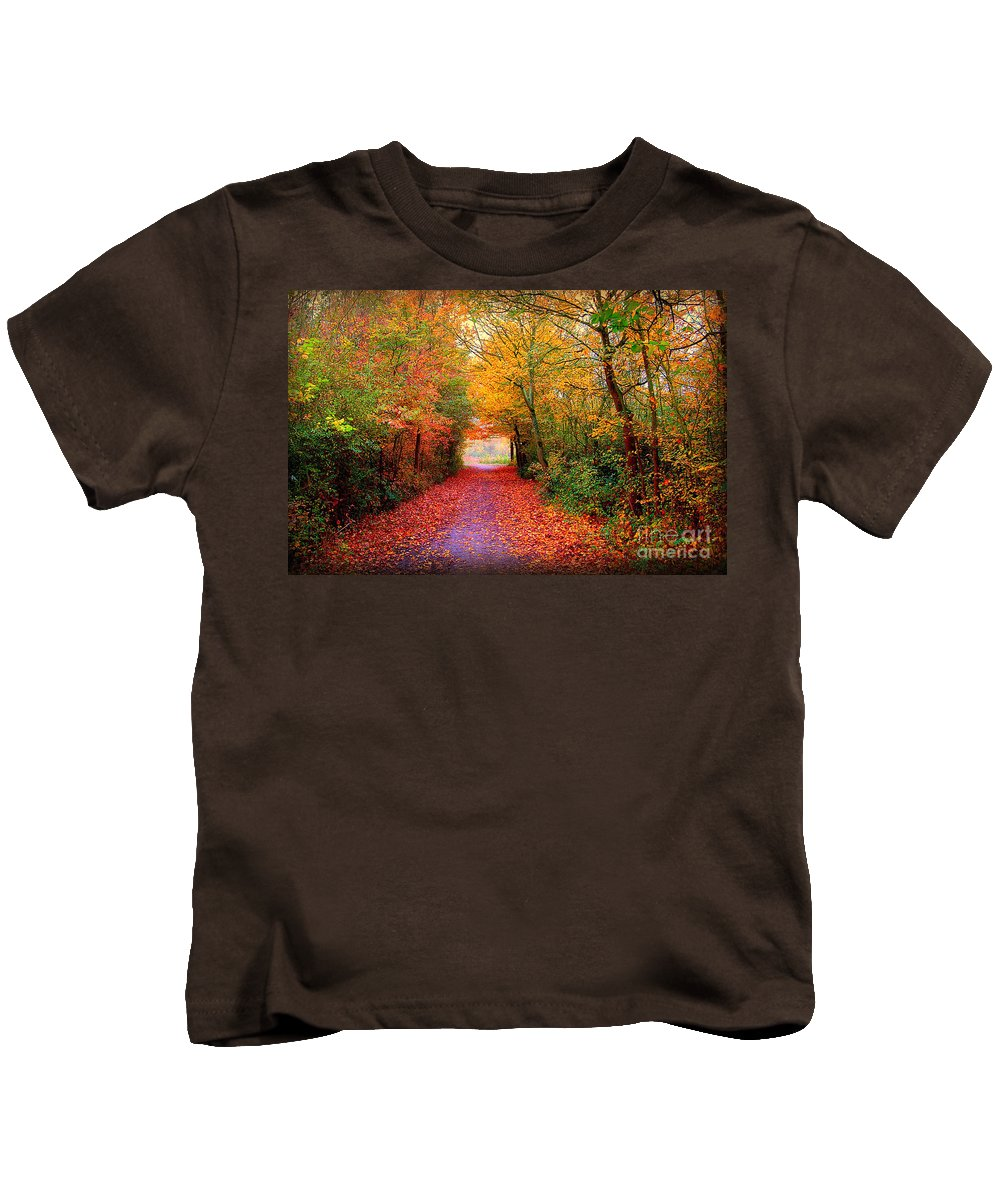 Autumn Kids T-Shirt featuring the photograph Hope by Jacky Gerritsen