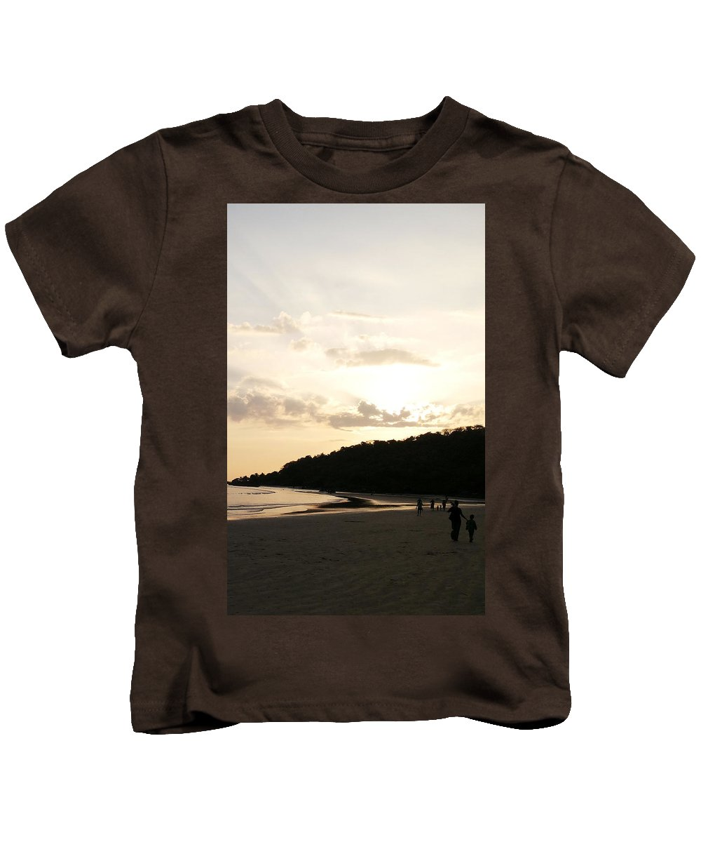 Photography Kids T-Shirt featuring the photograph I'll Be Back by David Thirumur