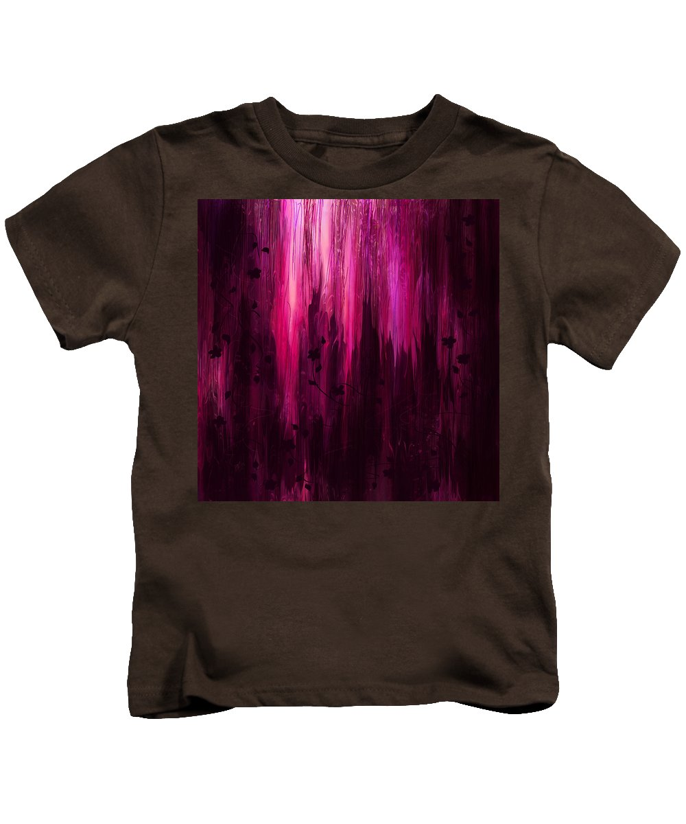 Abstract Kids T-Shirt featuring the digital art In His Presence by Rachel Christine Nowicki