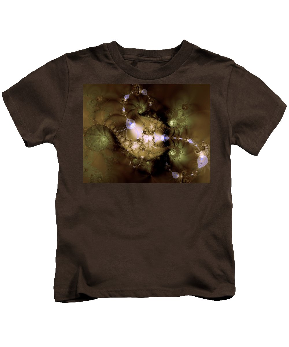 Dimension Kids T-Shirt featuring the digital art Intergalactica by Casey Kotas