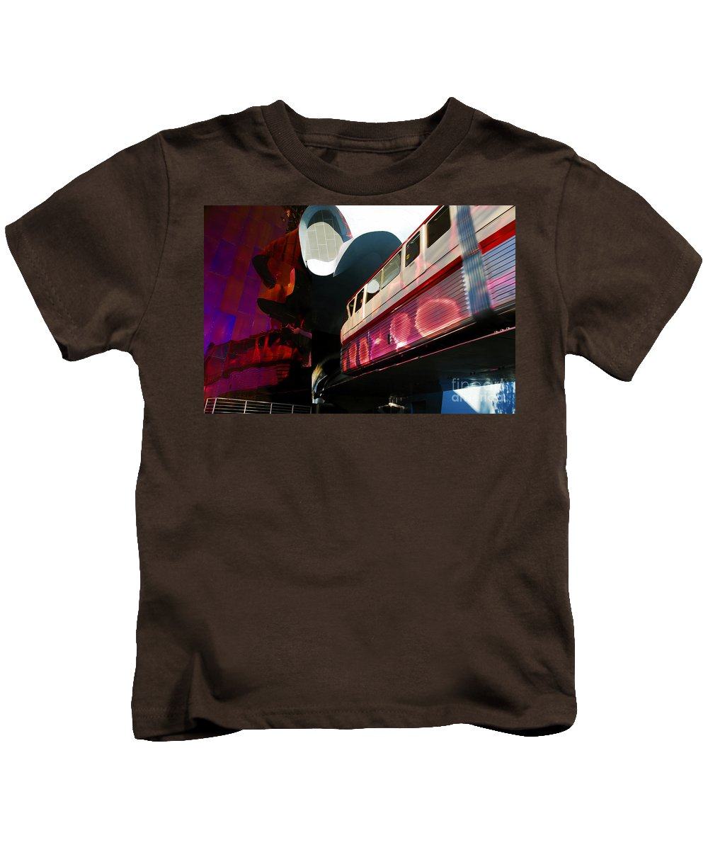 Future Kids T-Shirt featuring the photograph Into The Future by David Lee Thompson