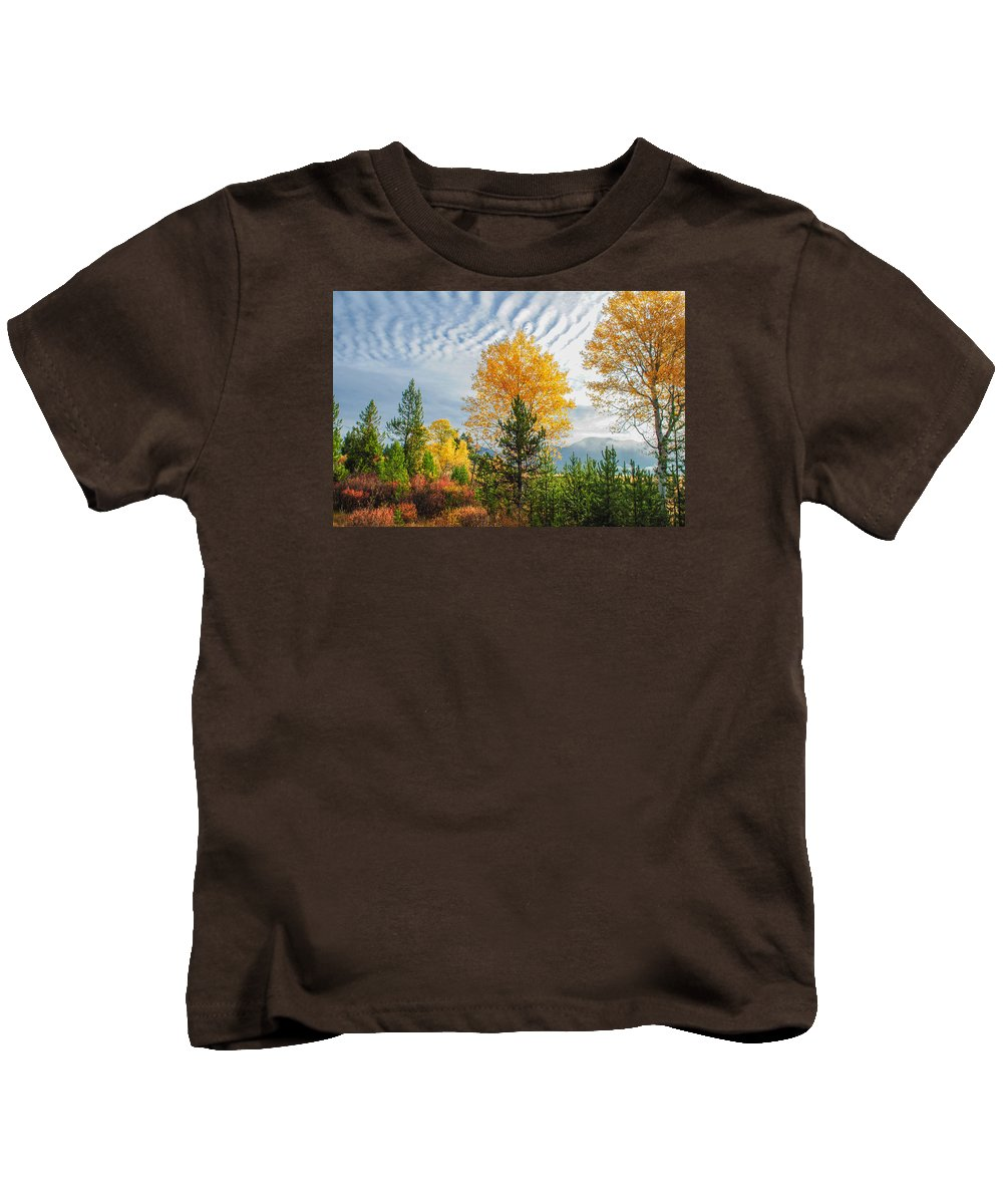 Jughandle Kids T-Shirt featuring the photograph Jughandle Mountain by Megan Martens