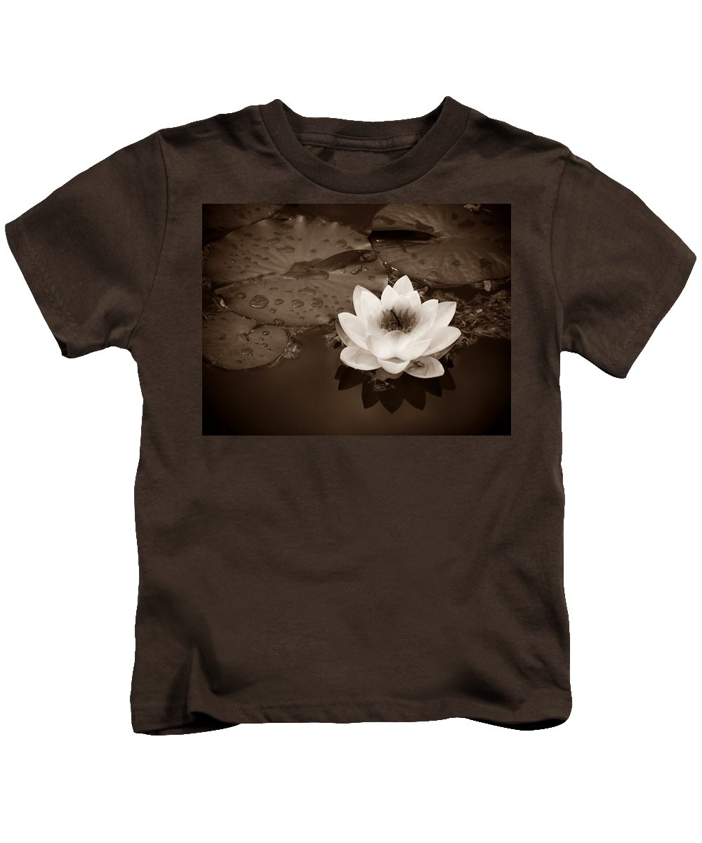 Lily Kids T-Shirt featuring the photograph June 19 2010 by Tara Turner