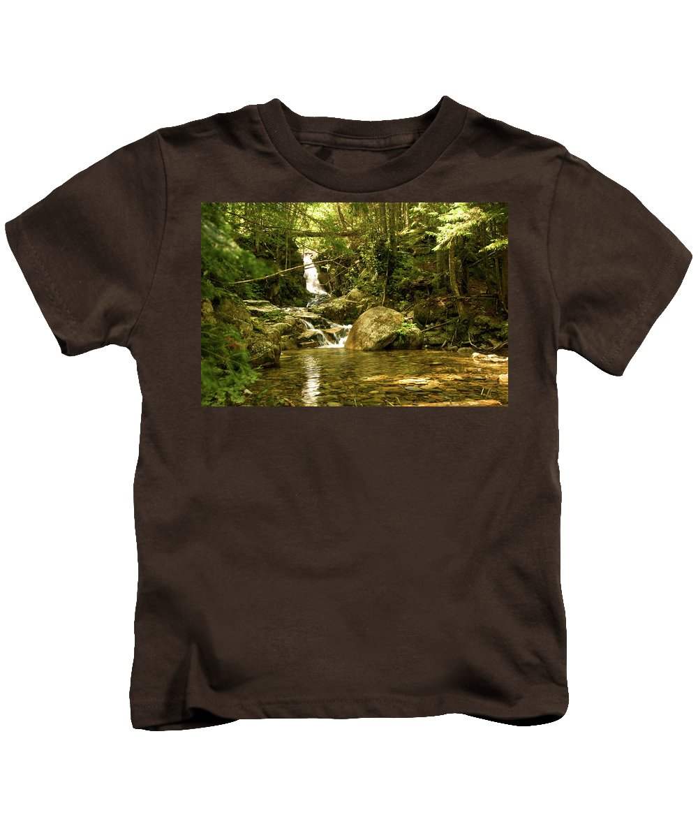 white Mountains Kids T-Shirt featuring the photograph Jungle Appeal by Paul Mangold