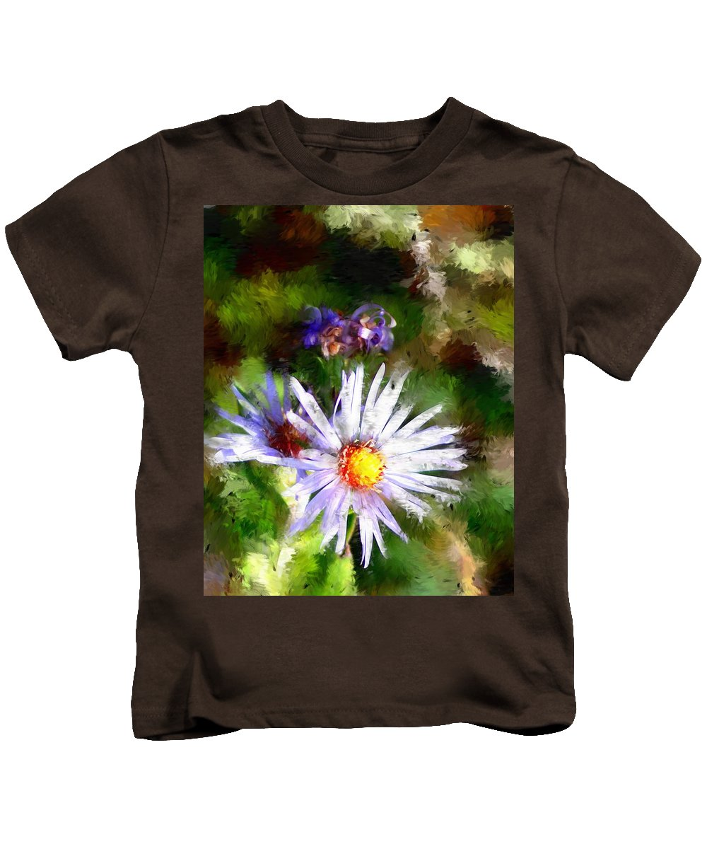 Flower Kids T-Shirt featuring the photograph Last Rose Of Summer by David Lane