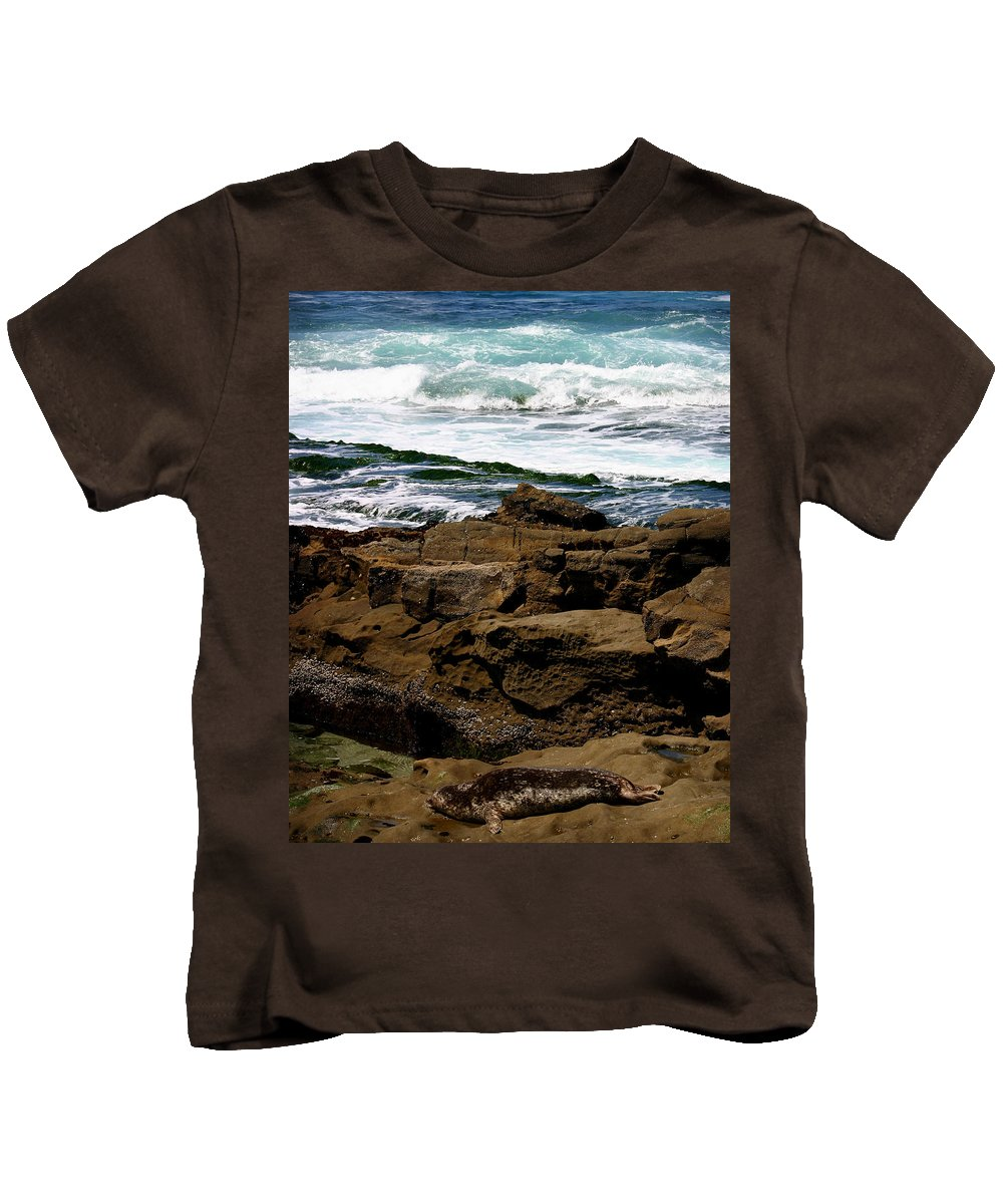 Beach Kids T-Shirt featuring the photograph Lazy Days by Anthony Jones