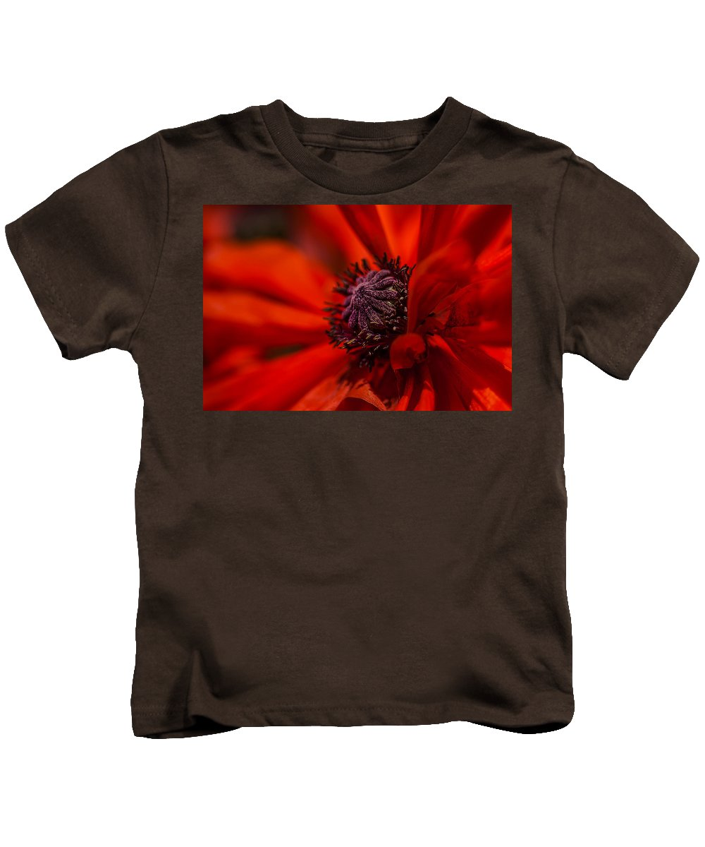 Flowers Kids T-Shirt featuring the photograph Leka by Greg Collins