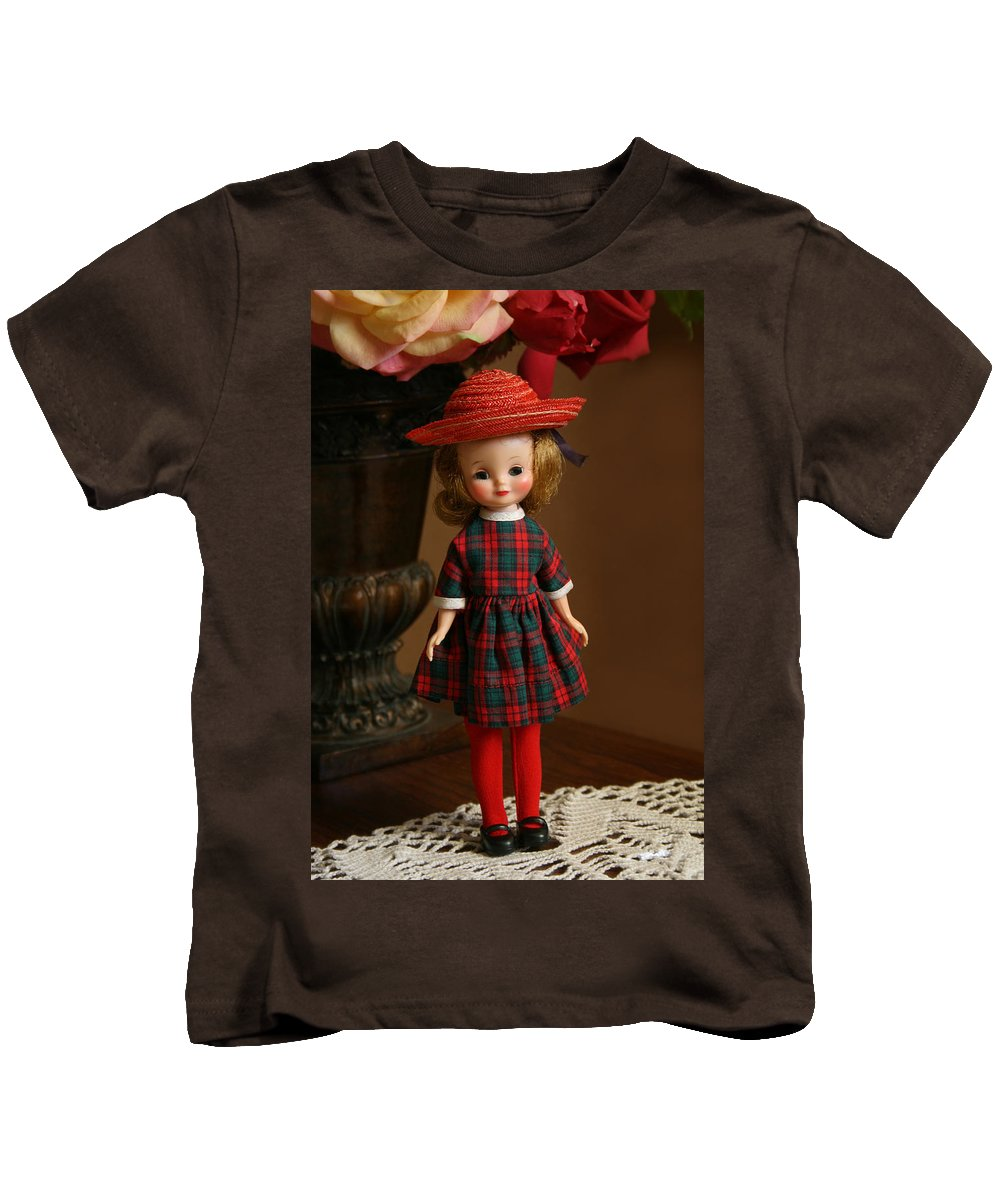 Betsy Kids T-Shirt featuring the photograph Little Betsy by Marna Edwards Flavell
