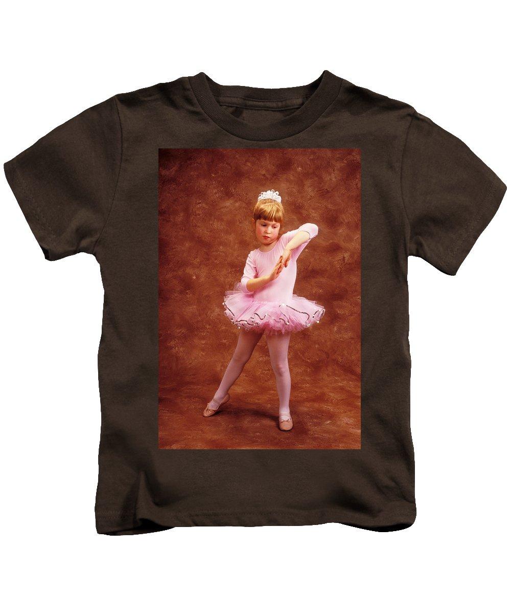 Dancer Kids T-Shirt featuring the photograph Little Dancer by Garry Gay