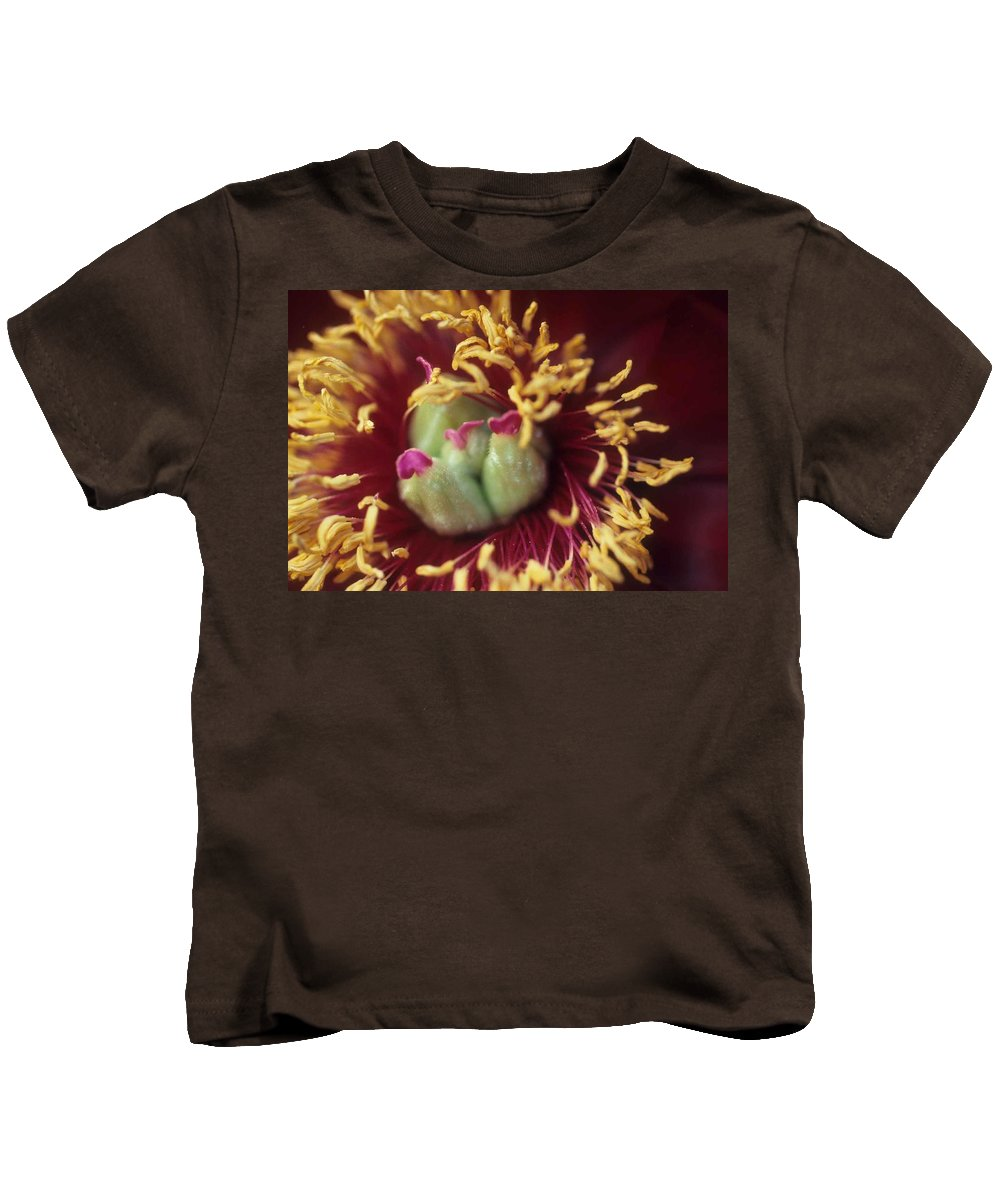 Flower Kids T-Shirt featuring the photograph Look Closely by Laurie Paci