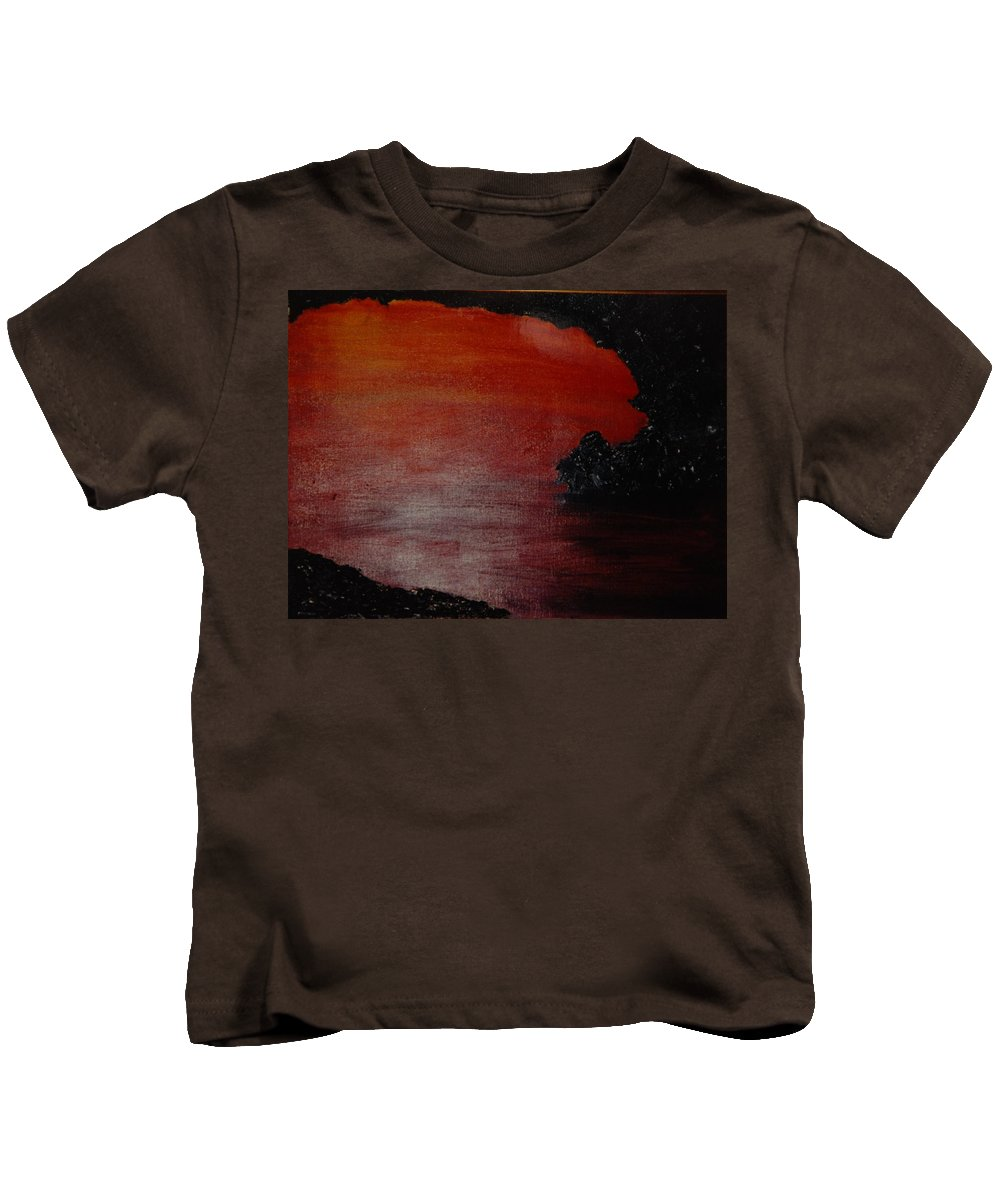 Painting Kids T-Shirt featuring the photograph Lori's World by Rob Hans