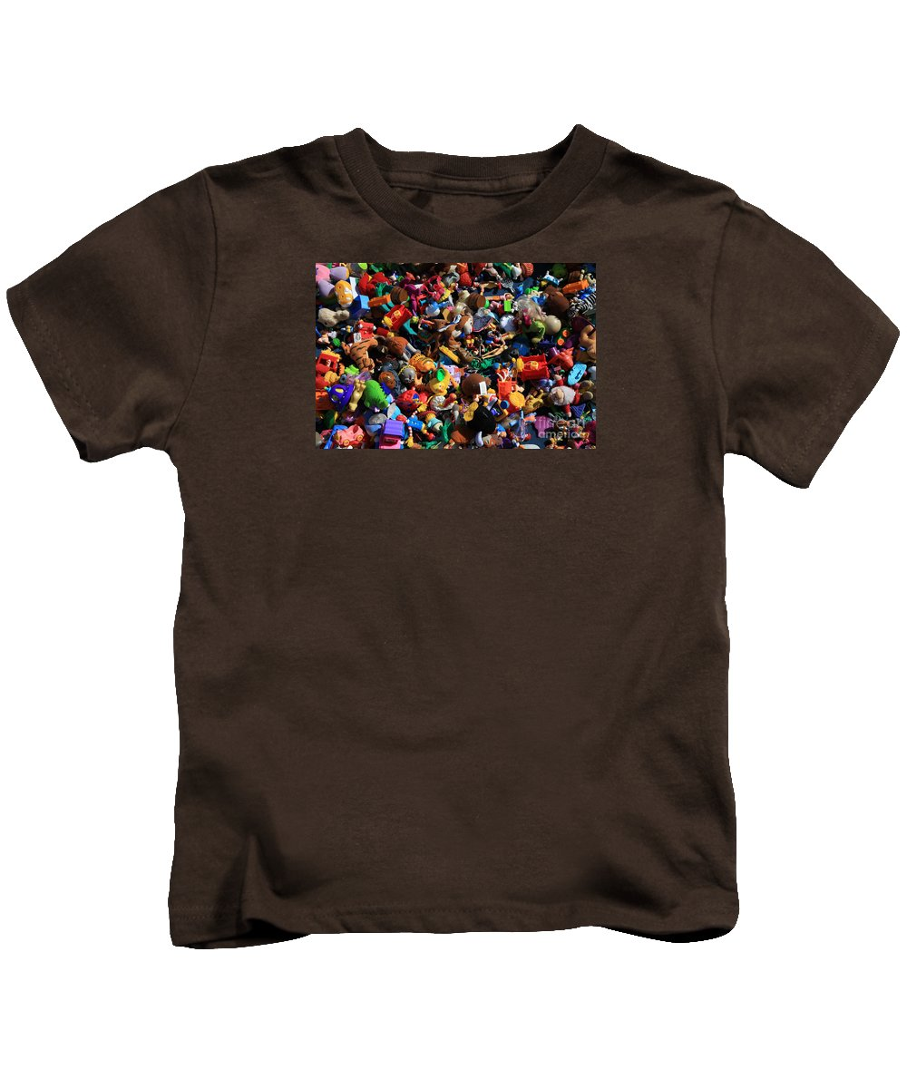 China Kids T-Shirt featuring the photograph Made In China by Nareeta Martin