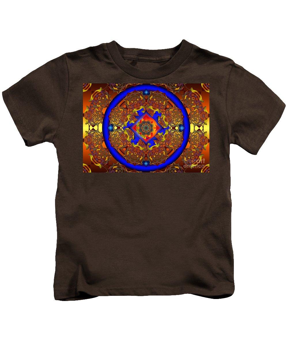 Royal Kids T-Shirt featuring the digital art Maraschino Delight by Robert Orinski