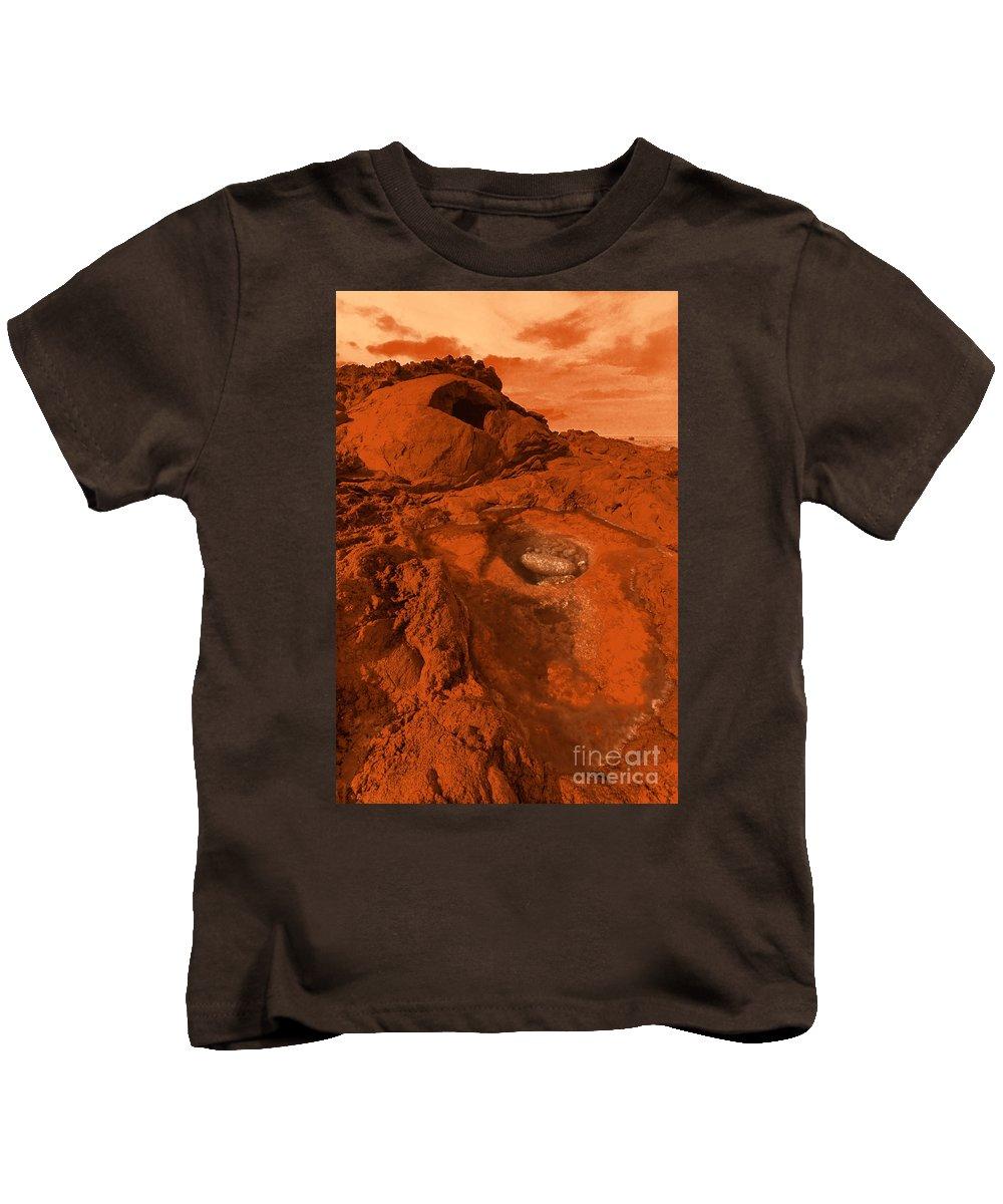 Alien Kids T-Shirt featuring the photograph Mars Landscape by Gaspar Avila
