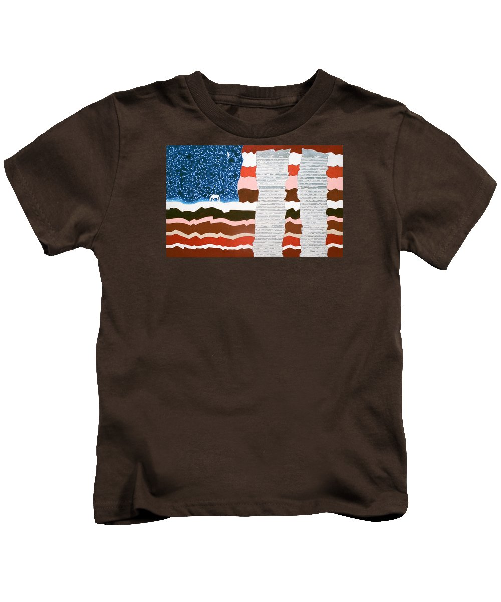 9/11 Kids T-Shirt featuring the painting Memorial by Sharron Loree