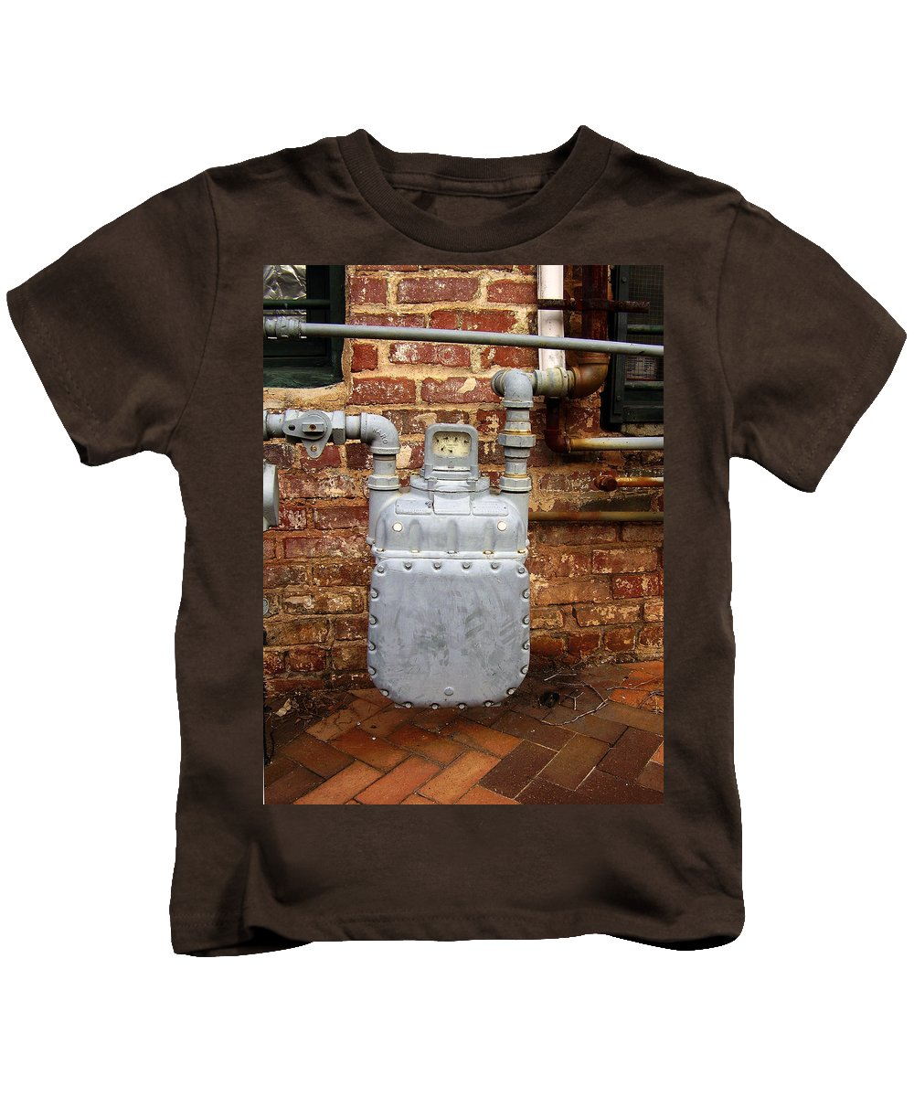 Meter Kids T-Shirt featuring the photograph Meter II In Athens Ga by Flavia Westerwelle