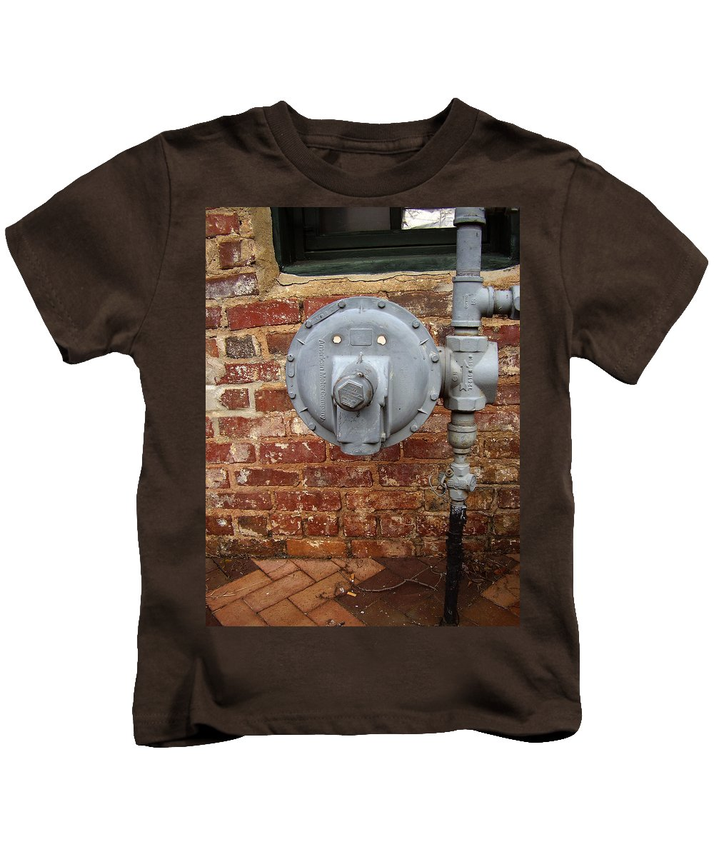Meter Kids T-Shirt featuring the photograph Meter In Athens Ga by Flavia Westerwelle