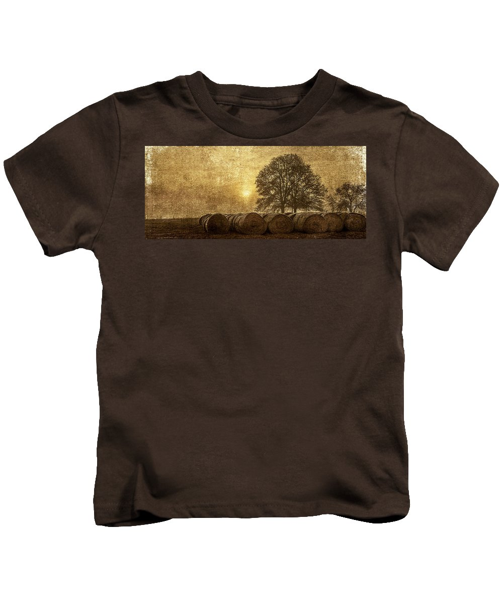 Three Kids T-Shirt featuring the photograph Morning 2 by Thomas Warner