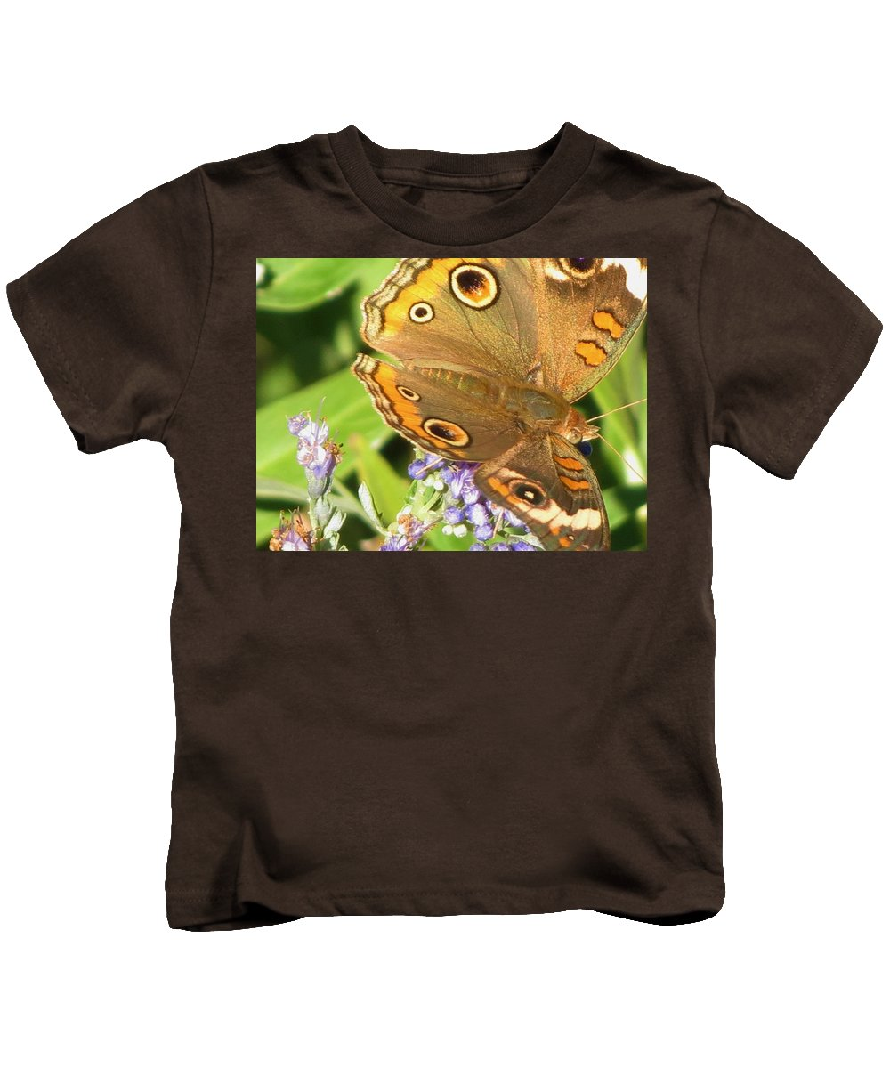 Moth Kids T-Shirt featuring the photograph Moth 1 by Vijay Sharon Govender
