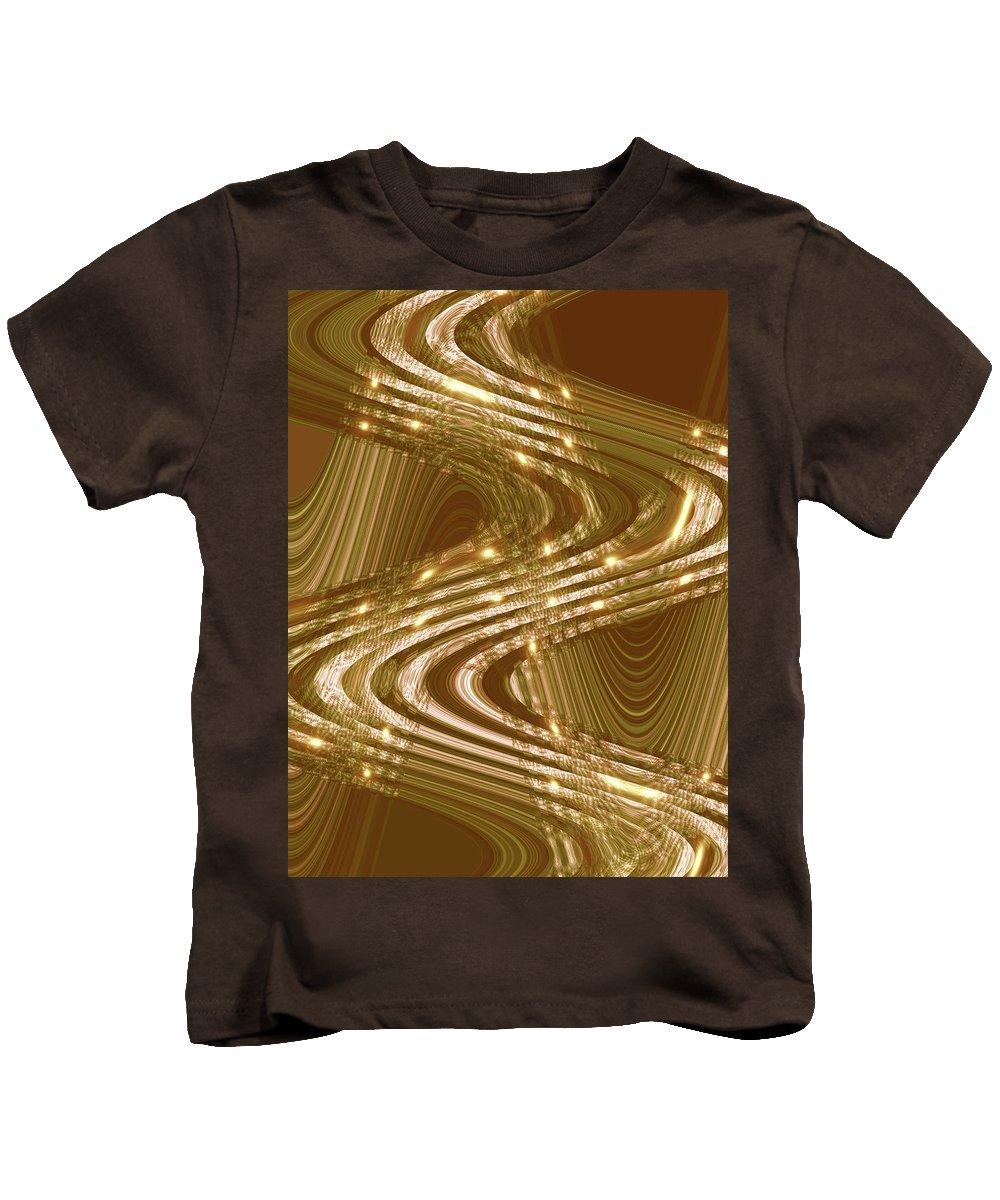 Moveonart! Global Gathering. Jacob Kanduch Kids T-Shirt featuring the digital art Moveonart Place Of Inspiration by Jacob Kanduch
