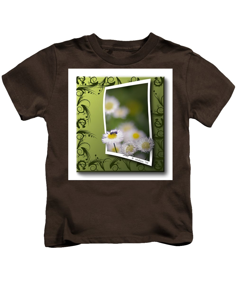 2d Kids T-Shirt featuring the photograph Nature Bug by Brian Wallace