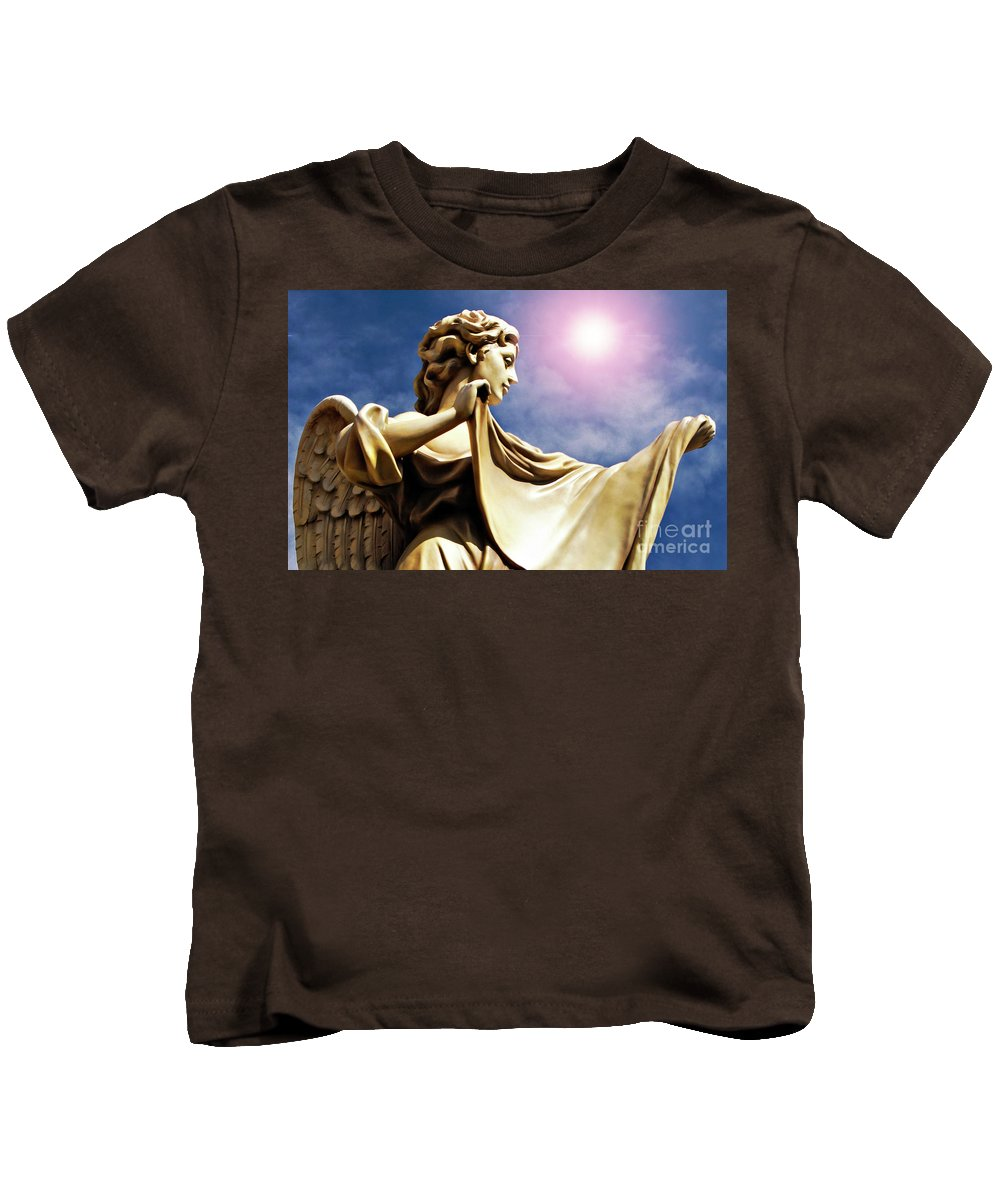 Angel Kids T-Shirt featuring the photograph New Orleans Angel by Kathleen K Parker