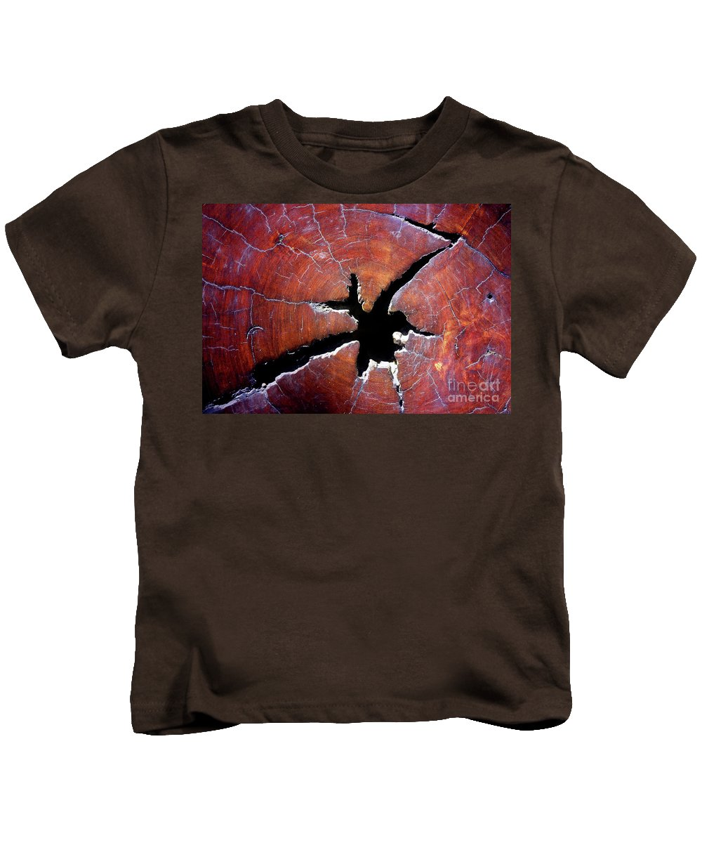 Wood Kids T-Shirt featuring the photograph Niche by Stephen Mitchell