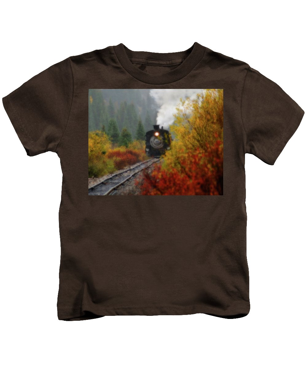 Colorado Kids T-Shirt featuring the photograph Number 482 by Steve Stuller