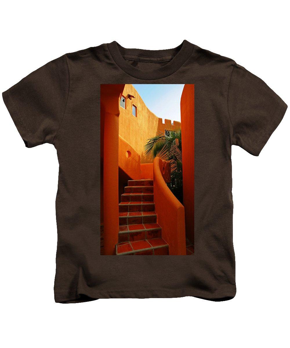 Orange Crush Kids T-Shirt featuring the photograph Orange Crush 2 by Skip Hunt