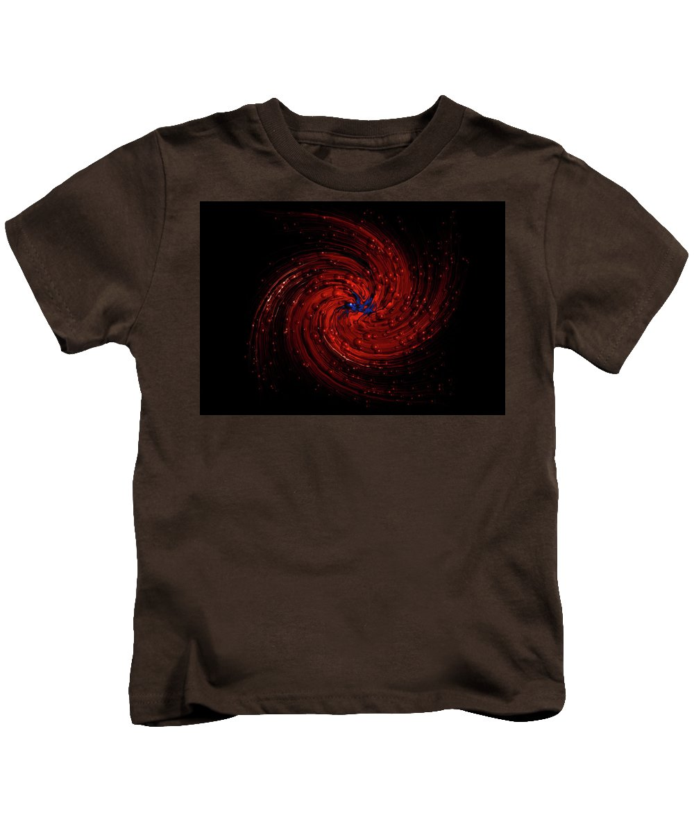 Digitalimage Kids T-Shirt featuring the digital art Orion by Tony Svensson