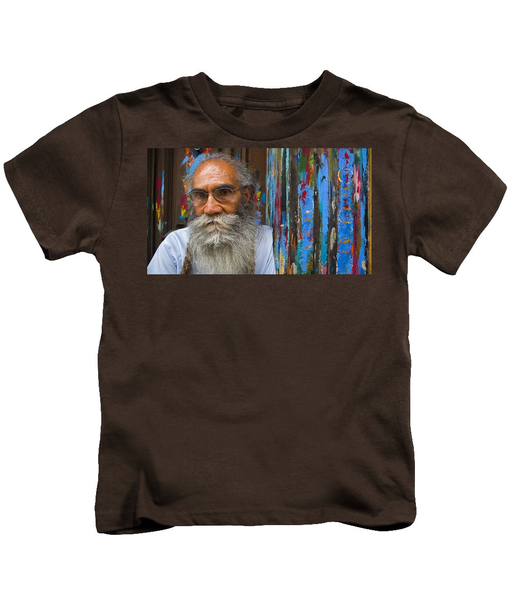 Architecture Kids T-Shirt featuring the photograph Orizaba Painter by Skip Hunt