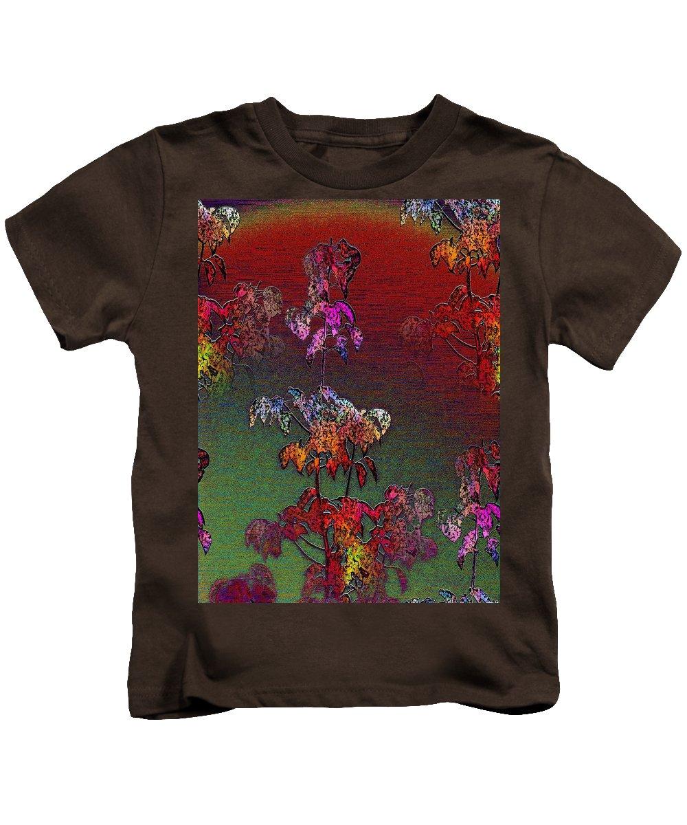 Mist Kids T-Shirt featuring the digital art Out Of The Mist 3 by Tim Allen