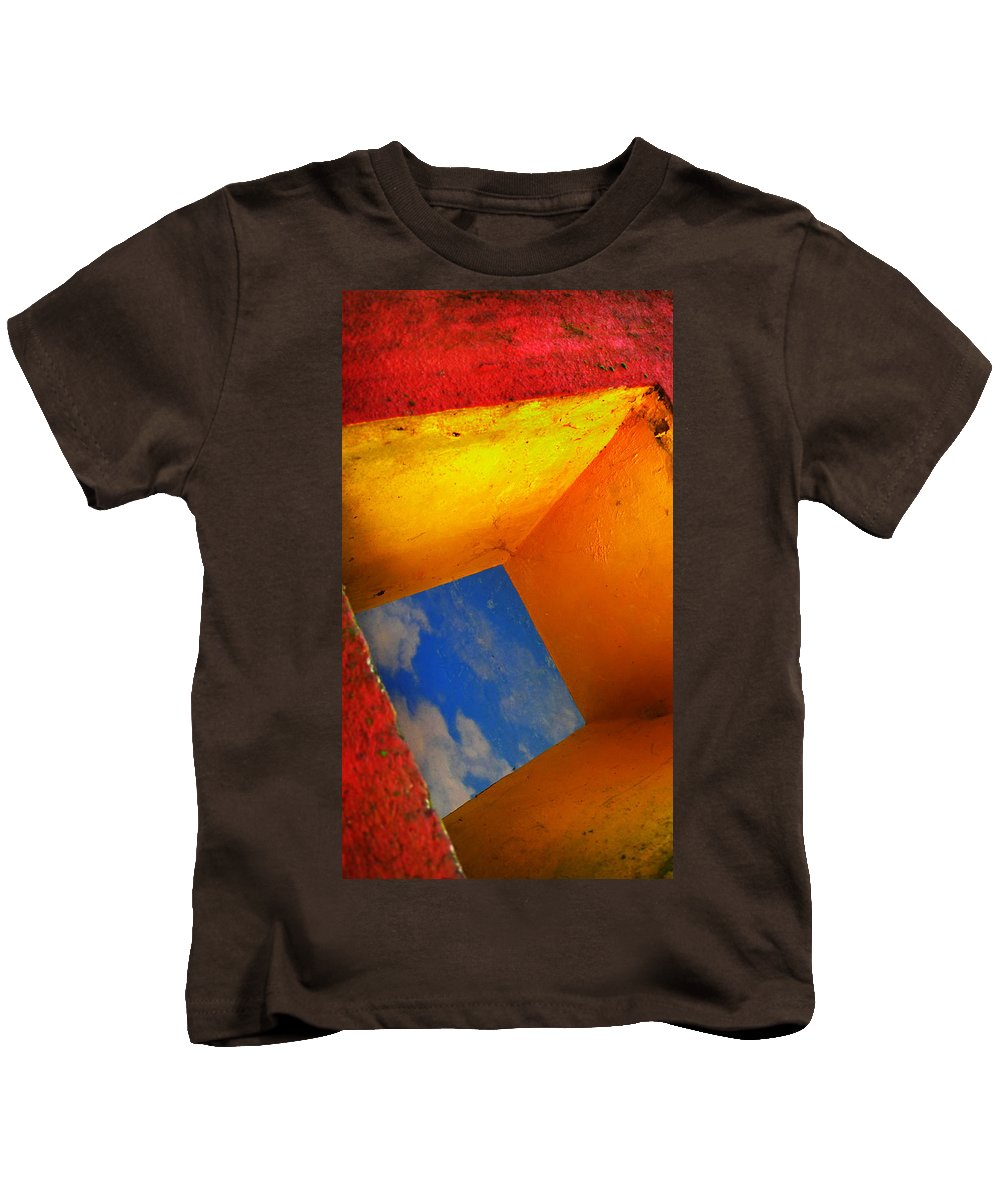 Skip Hunt Kids T-Shirt featuring the photograph Over The Rainbow by Skip Hunt
