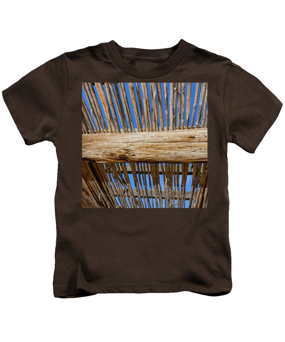 Texas Kids T-Shirt featuring the photograph Overhead Shelter by SR Green