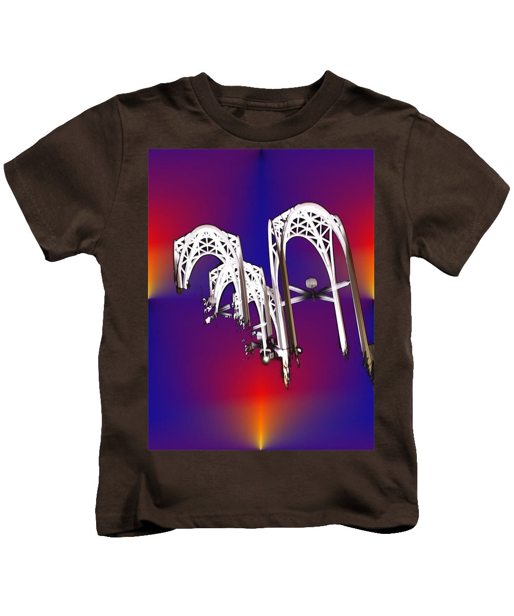 Seattle Kids T-Shirt featuring the photograph Pacific Science Center Arches by Tim Allen