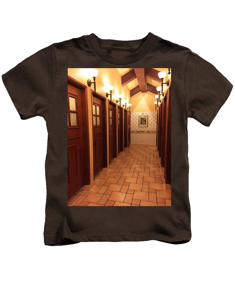 Kids T-Shirt featuring the photograph Paris by Julia Breheny