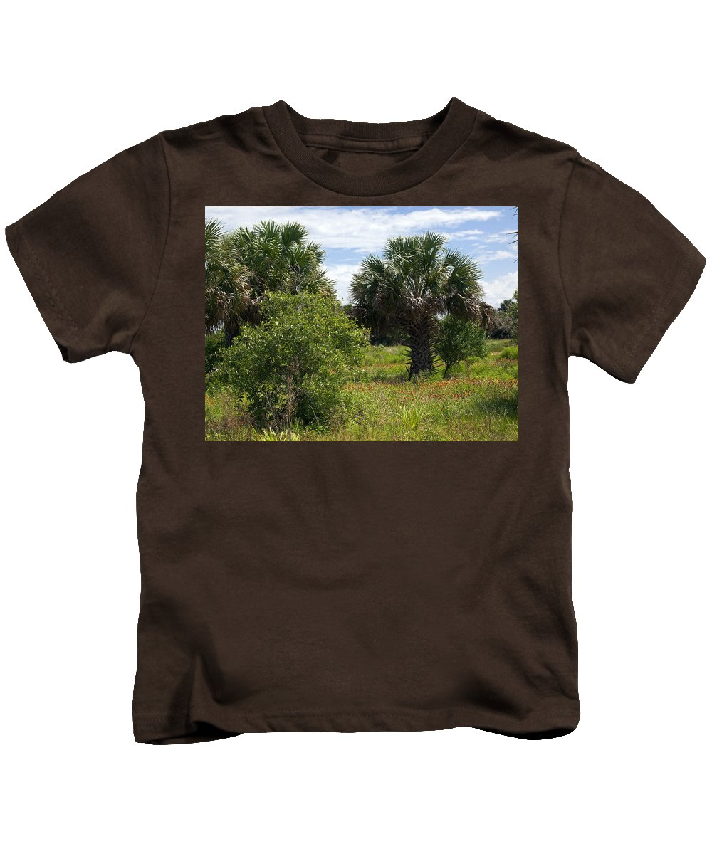 Florida Kids T-Shirt featuring the photograph Pelican Island Nwr In Florida by Allan Hughes
