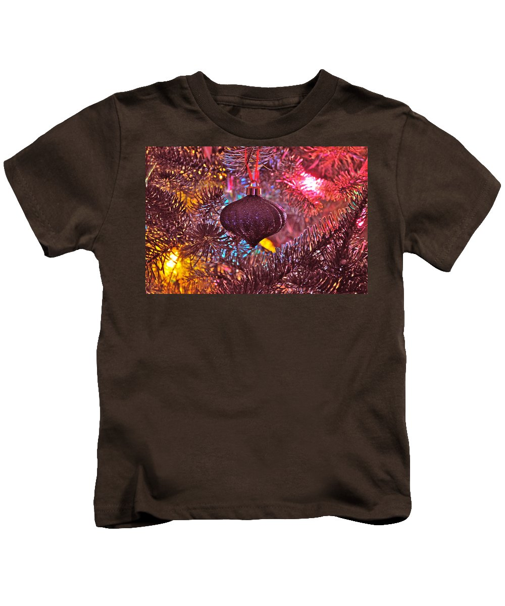 Ornament Kids T-Shirt featuring the photograph Pink Essence by Bridgette Gomes