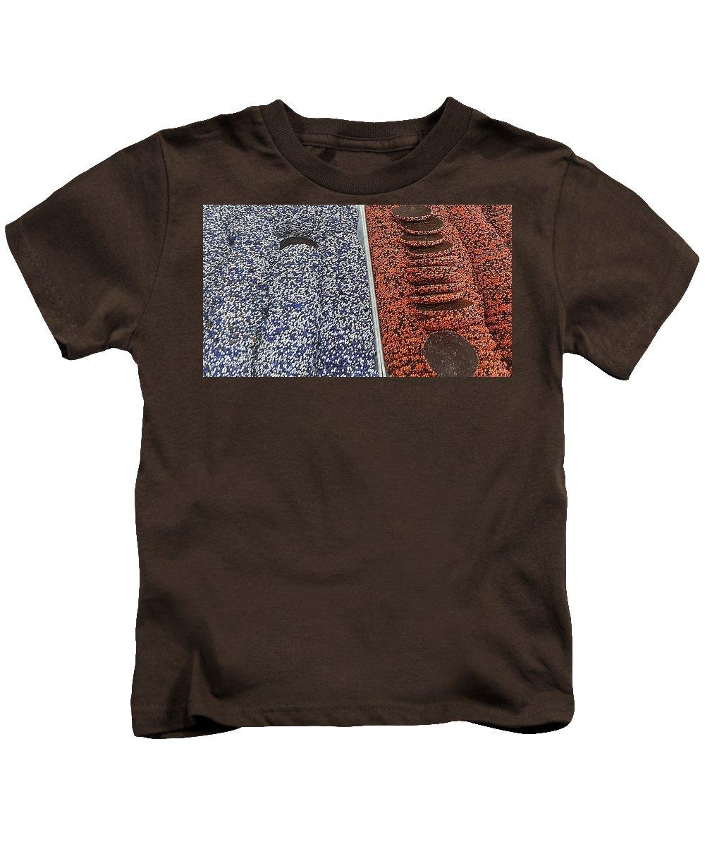 Nonpareils Kids T-Shirt featuring the photograph Ravens And Orioles Nonpareils by Robert Banach