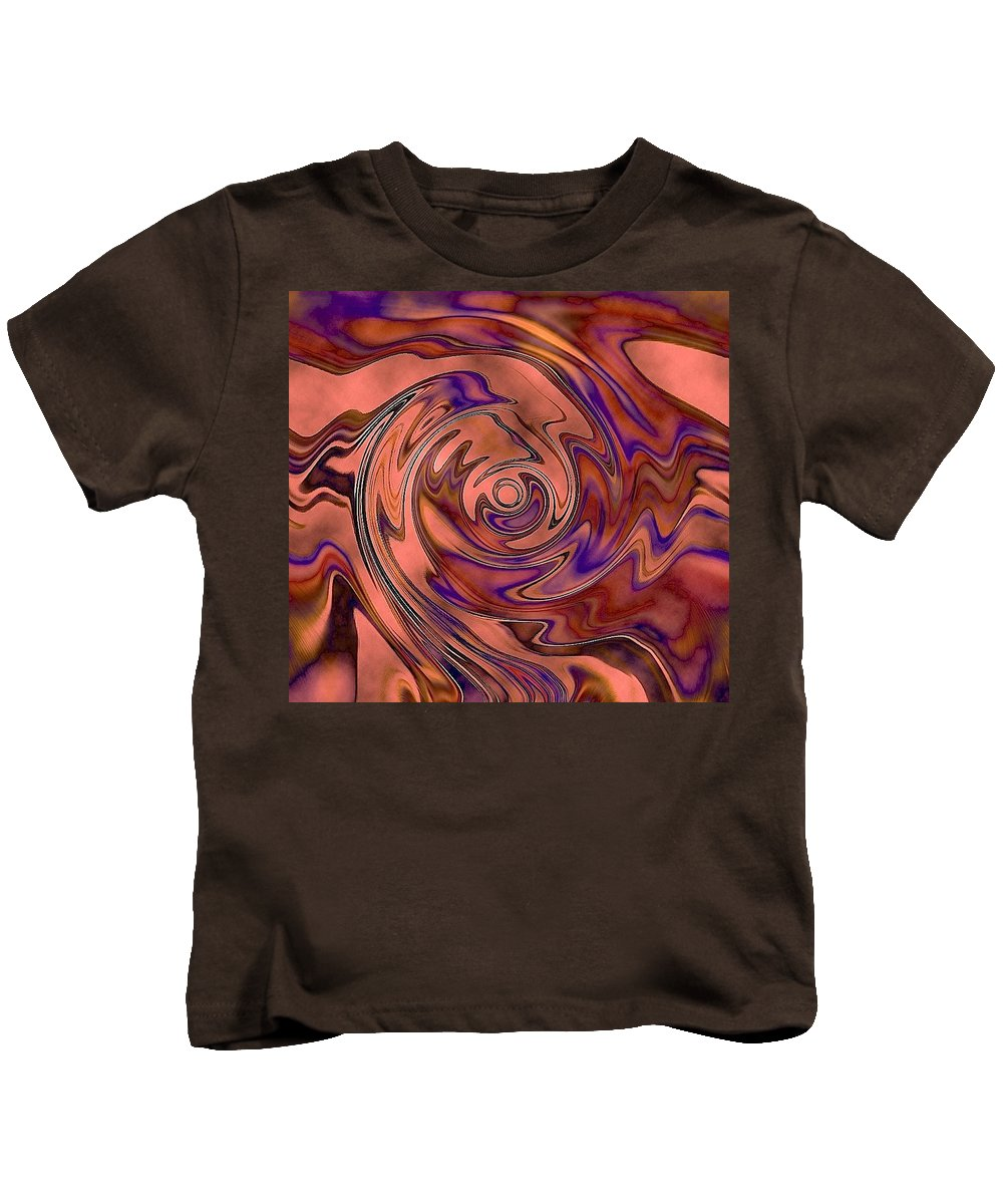 Kids T-Shirt featuring the photograph Recalling Everything... by Elizabeth Tillar