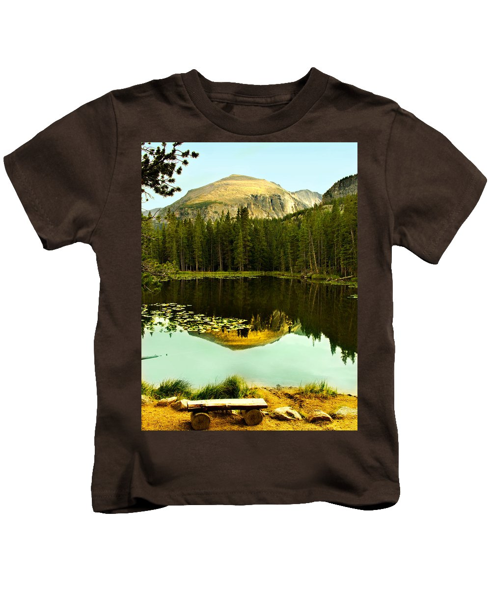 Reflection Kids T-Shirt featuring the photograph Reflection by Marilyn Hunt