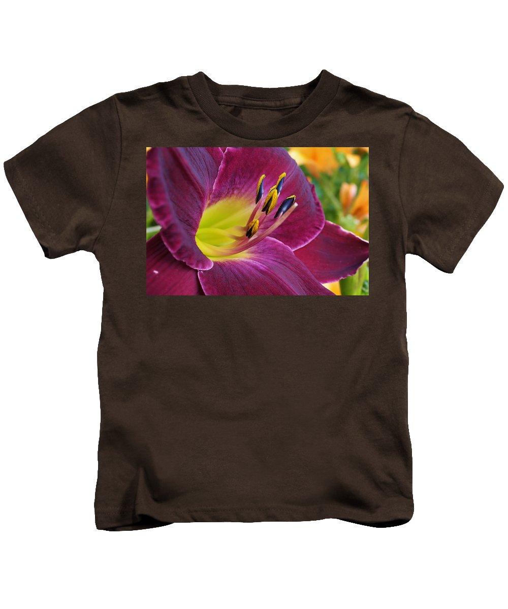 Flora Kids T-Shirt featuring the photograph Regal Beauty by Bruce Bley