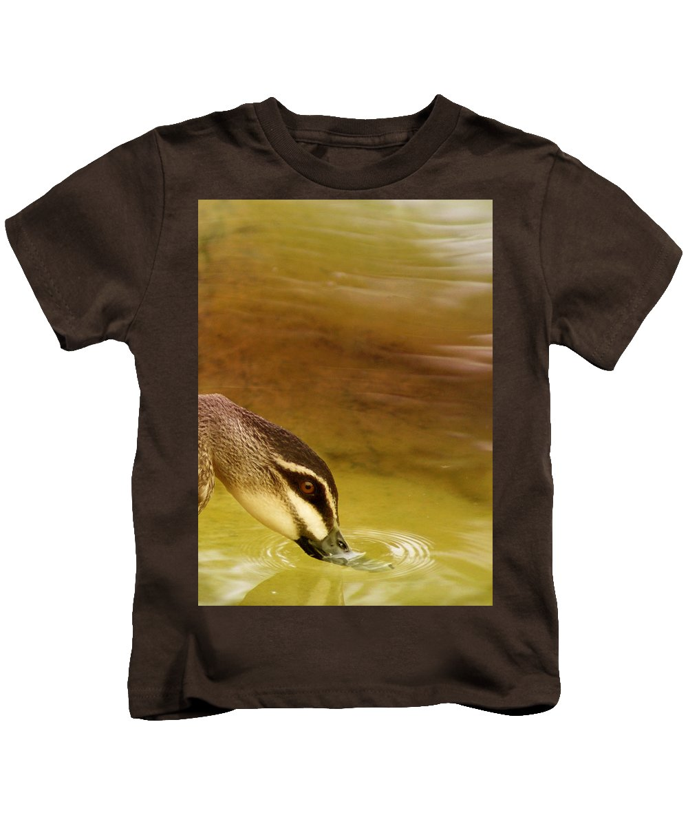 Animals Kids T-Shirt featuring the photograph Ripples by Holly Kempe