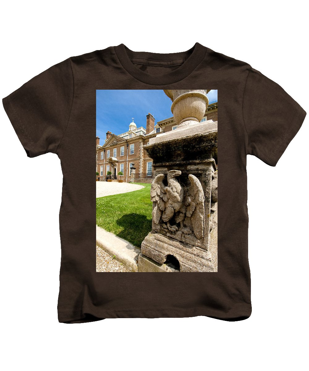 Crane Estate Kids T-Shirt featuring the photograph Sentinel by Greg Fortier