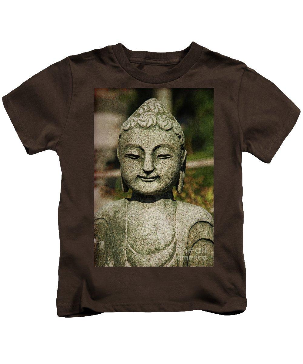 Shiva Kids T-Shirt featuring the photograph Shiva by Susanne Van Hulst