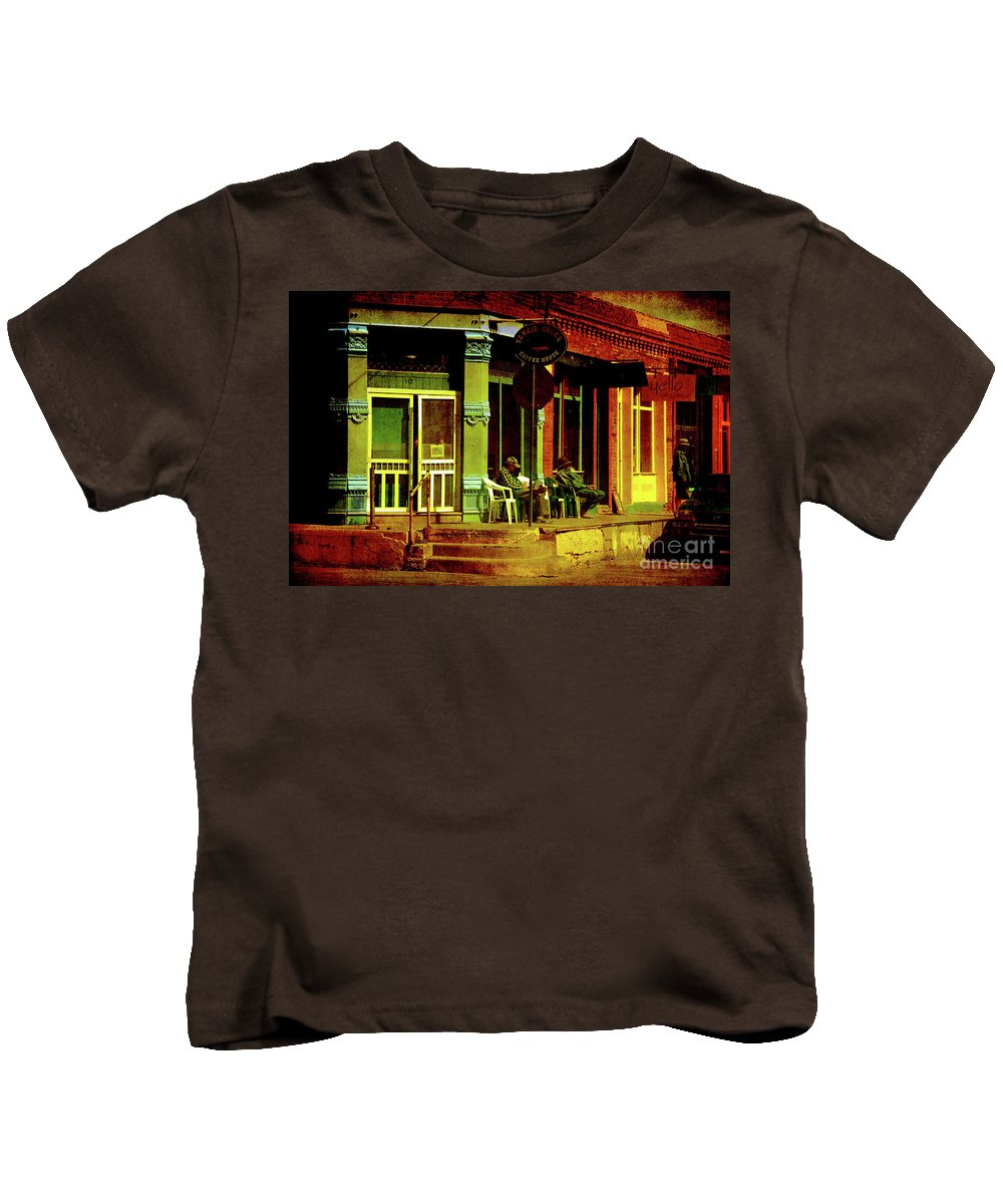 House Kids T-Shirt featuring the photograph Siesta Time by Susanne Van Hulst