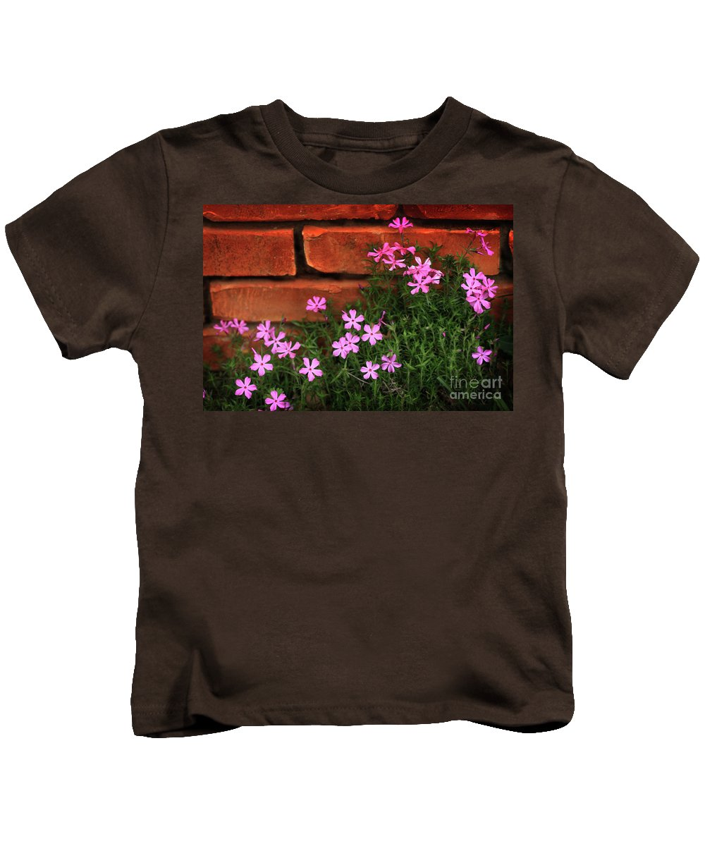 Spring Flowers Kids T-Shirt featuring the photograph Spring Flowers by Kim Henderson