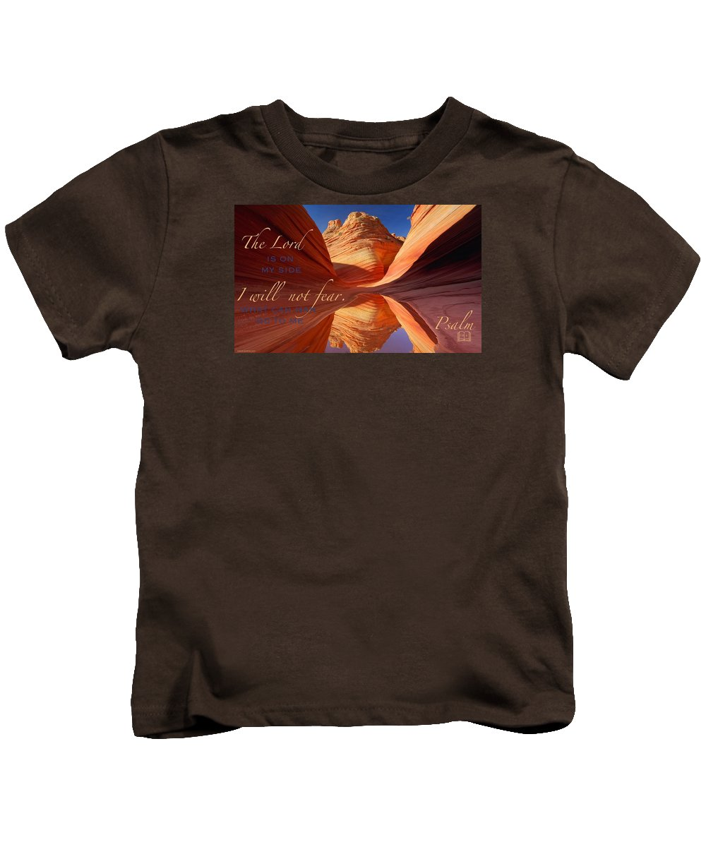 Kids T-Shirt featuring the photograph Strength4 by David Norman